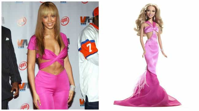 Beyoncé Knowles is listed (or ranked) 4 on the list The Most Accurate Celebrity Barbie Dolls