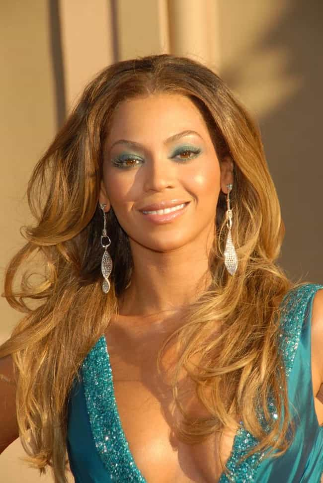 Beyoncé Knowles is listed (or ranked) 7 on the list Famous (Alleged) Illuminati Members
