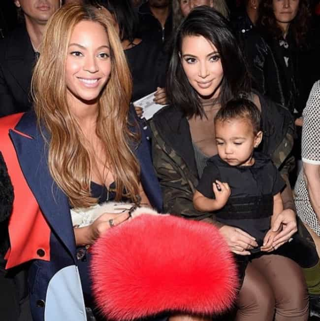Beyoncé Knowles ... is listed (or ranked) 4 on the list Famous Friends of Kim Kardashian