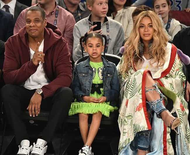 Beyoncé Knowles is listed (or ranked) 1 on the list Obnoxious Celebrity Baby-Namers
