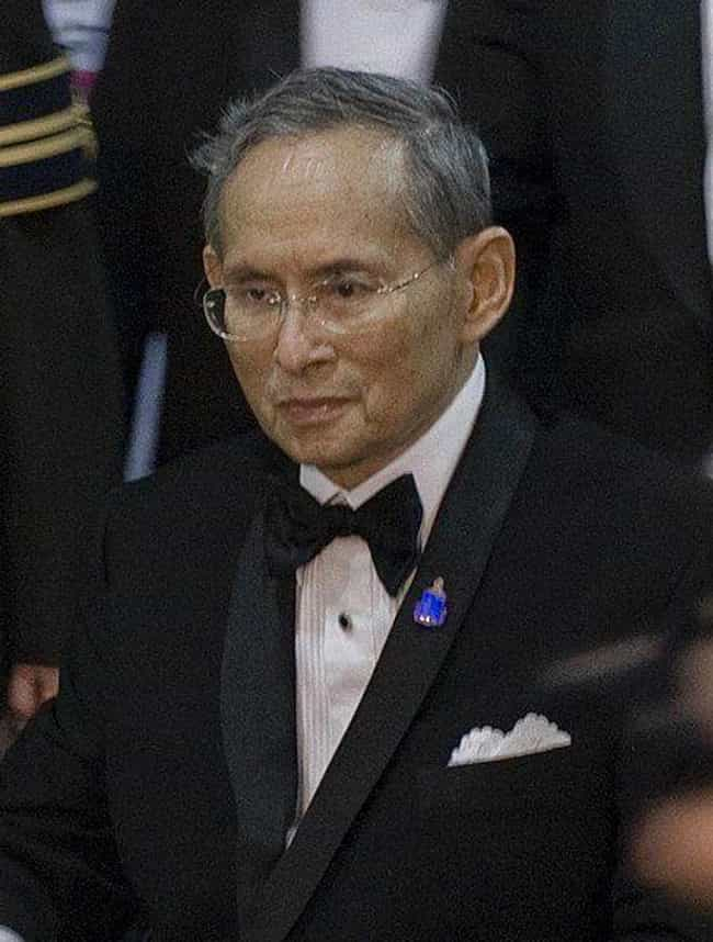 Bhumibol Adulyadej is listed (or ranked) 1 on the list Richest Royals in the World