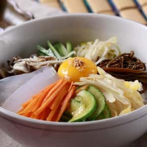 Bibimbap is listed (or ranked) 4 on the list The Best Korean Food