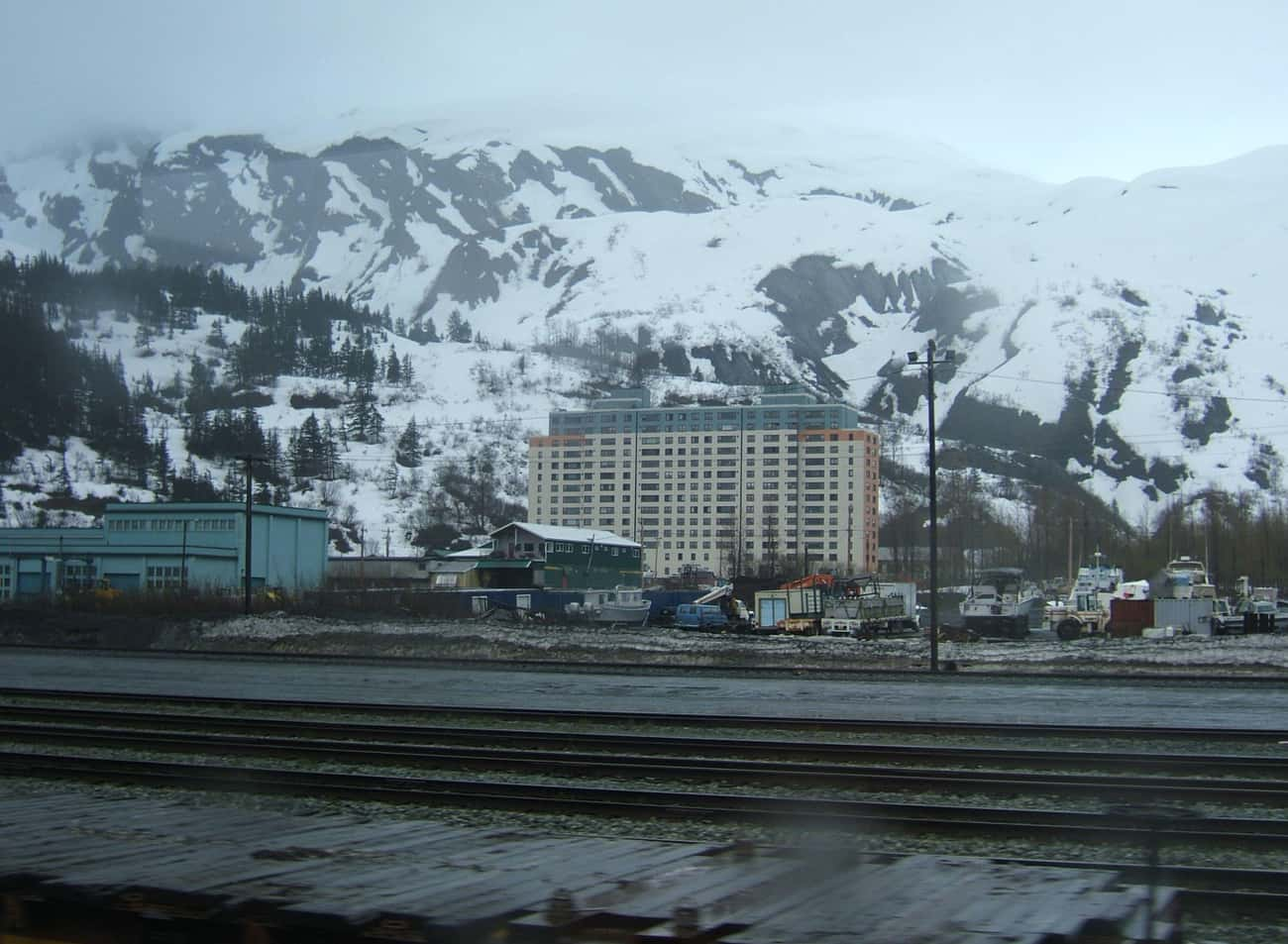 Whittier, AK – Everyone Lives In One Building