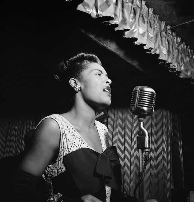 Billie Holiday is listed (or ranked) 3 on the list 20 Famous People with Cirrhosis