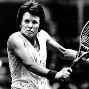 Billie Jean King is listed (or ranked) 4 on the list Famous Lesbian Athletes