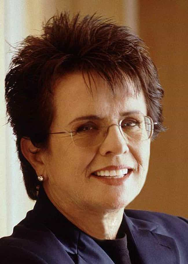 Billie Jean King is listed (or ranked) 1 on the list The Greatest Gay Icons in Sports