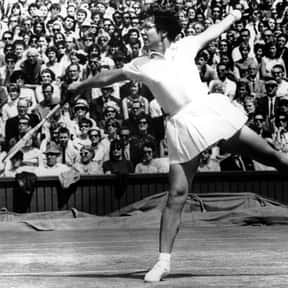 Billie Jean King is listed (or ranked) 8 on the list The Greatest Women's Tennis Players of All Time