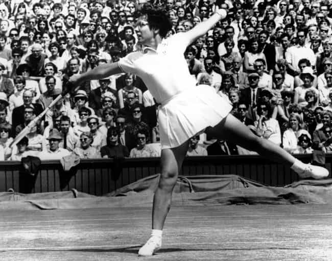 Billie Jean King is listed (or ranked) 3 on the list Athletes Who Are Gay