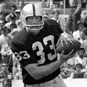 Billy Cannon is listed (or ranked) 8 on the list The Best Raiders Tight Ends Of All Time