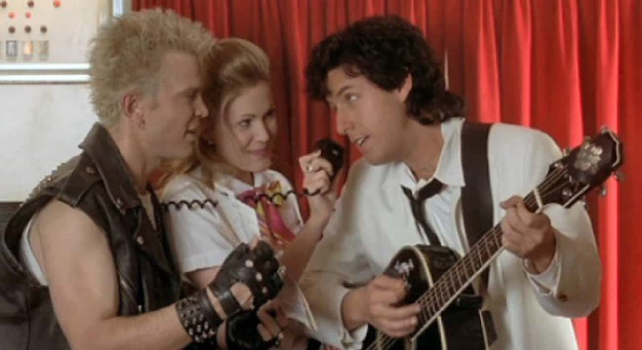 Billy Idol In 'The Wedding Sin is listed (or ranked) 3 on the list The Best Pop Star Movie Cameos