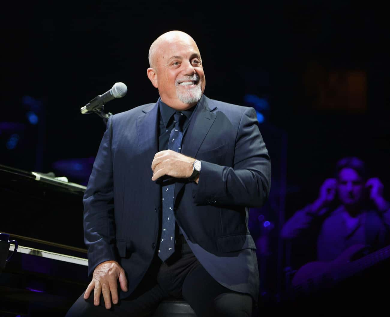 Billy Joel is listed (or ranked) 2 on the list 10 Celebs Who Put the Hip in Hip Replacement