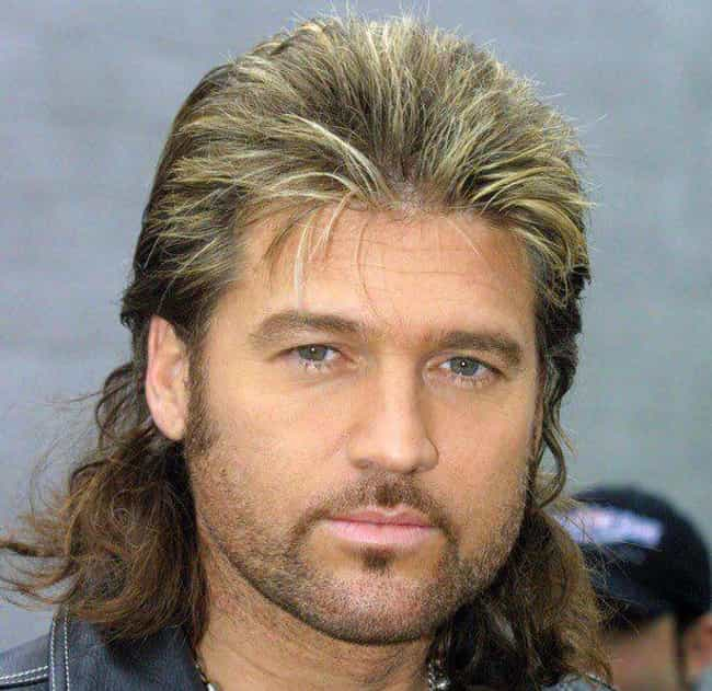 Billy Ray Cyrus is listed (or ranked) 3 on the list 25 Celebrities That Gave Us Douche Chills With Their Frosted Tips