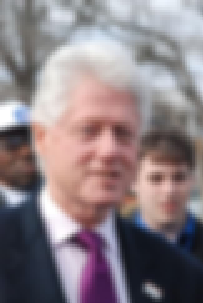Bill Clinton is listed (or ranked) 3 on the list The Hook-Up List From Rock's #1 Groupie