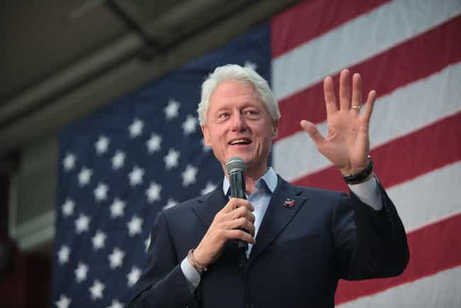 Bill Clinton is listed (or ranked) 3 on the list Celebrities Spotted on Martha's Vineyard