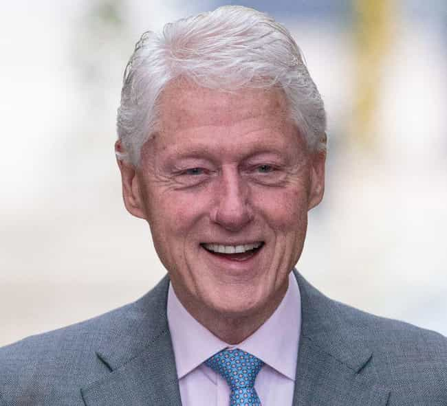 Bill Clinton is listed (or ranked) 4 on the list Male Celebrities Who Are 6'2
