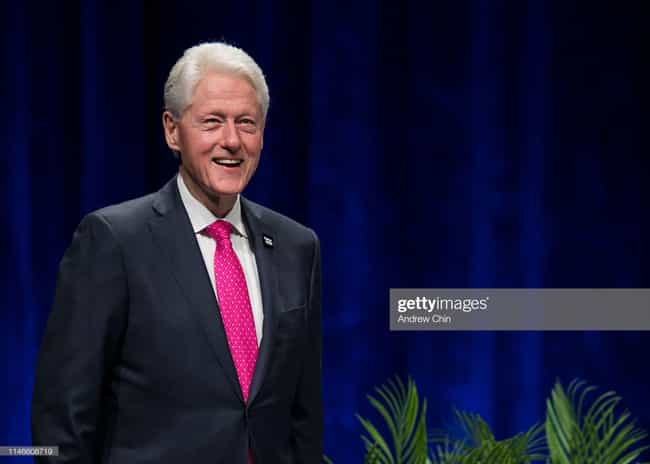 Bill Clinton is listed (or ranked) 2 on the list 26 Family Values Politicians Caught Having Affairs