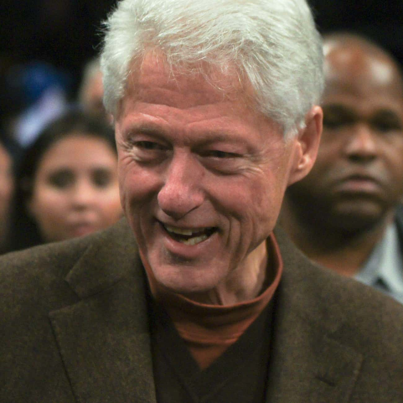 Bill Clinton is listed (or ranked) 2 on the list Celebrity Nets Fans