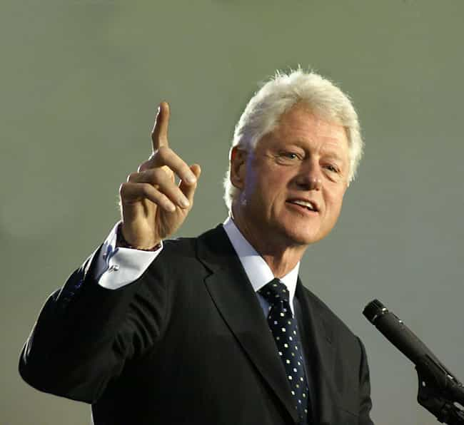 Bill Clinton is listed (or ranked) 2 on the list Celebrities Who Are (Allegedly) Swingers