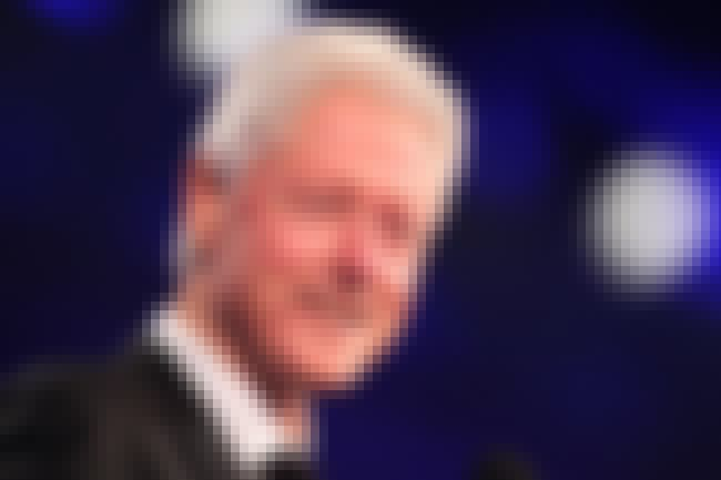 Bill Clinton is listed (or ranked) 1 on the list List of Famous Statesmen