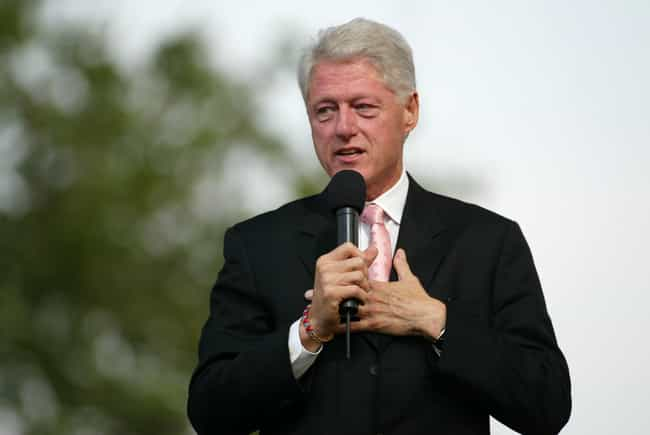 Bill Clinton is listed (or ranked) 1 on the list 20 Celebrities You Didn't Know Were Color Blind