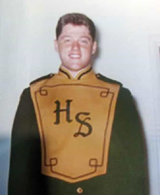 Bill Clinton is listed (or ranked) 4 on the list 30 Famous People Who Once Were in Marching Bands