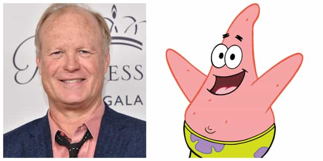 Bill Fagerbakke is listed (or ranked) 3 on the list 'SpongeBob SquarePants' Actors Vs. The Characters They Voice