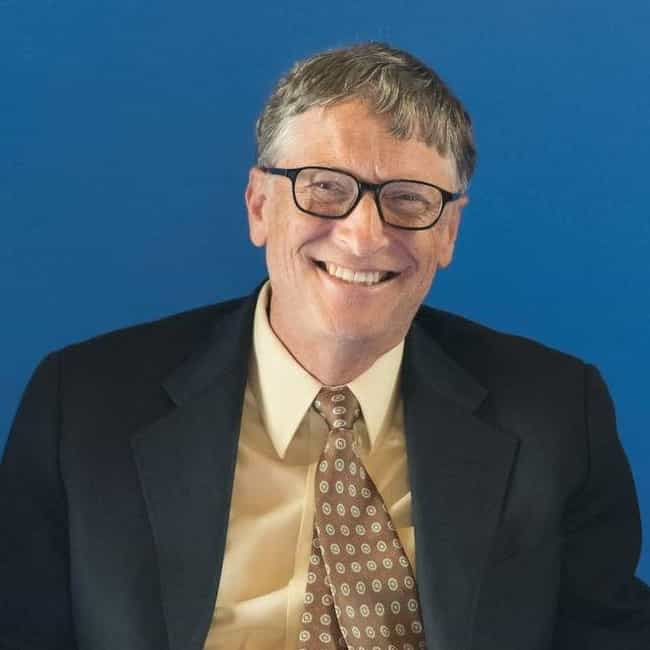 Bill Gates is listed (or ranked) 1 on the list Celebrity Supersonic Fans