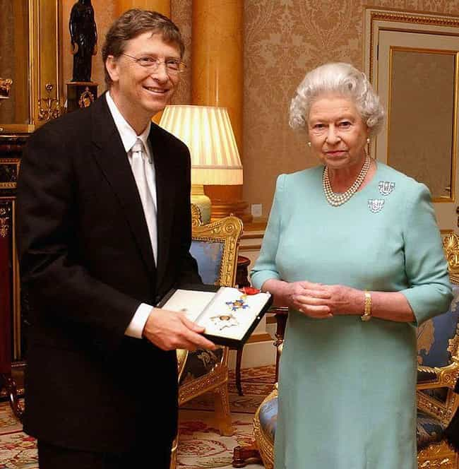 Bill Gates is listed (or ranked) 3 on the list Famous People Who Have Been Knighted