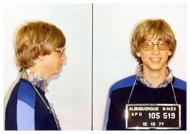 Bill Gates is listed (or ranked) 2 on the list The Most Surprising Celebrity Mugshots