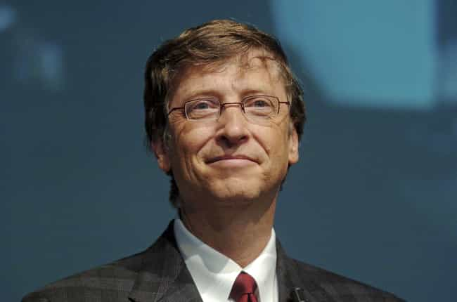 Bill Gates is listed (or ranked) 1 on the list Famous People Born in 1955