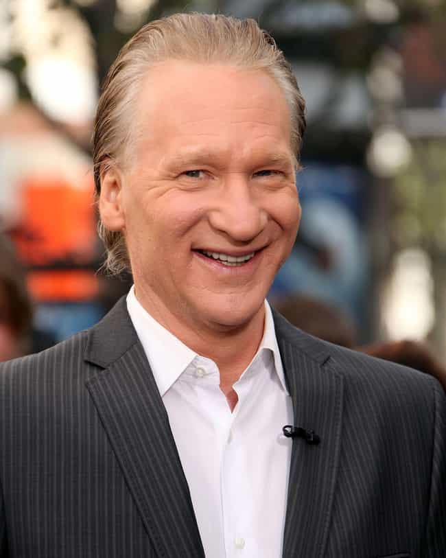 Bill Maher is listed (or ranked) 1 on the list Men Who Karrine Steffans Has Dated