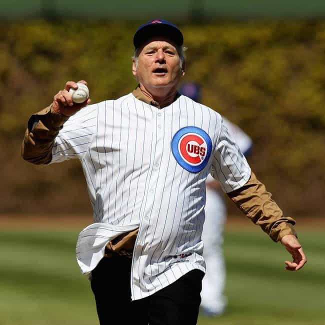 Bill Murray is listed (or ranked) 2 on the list Celebrity Cub Fans