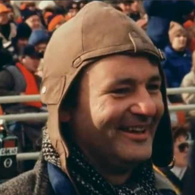 Bill Murray is listed (or ranked) 3 on the list Celebrity Fans of the Chicago Bears