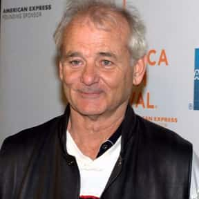 Bill Murray is listed (or ranked) 23 on the list Celebrity Men Over 60 You Wouldn't Mind Your Mom Dating