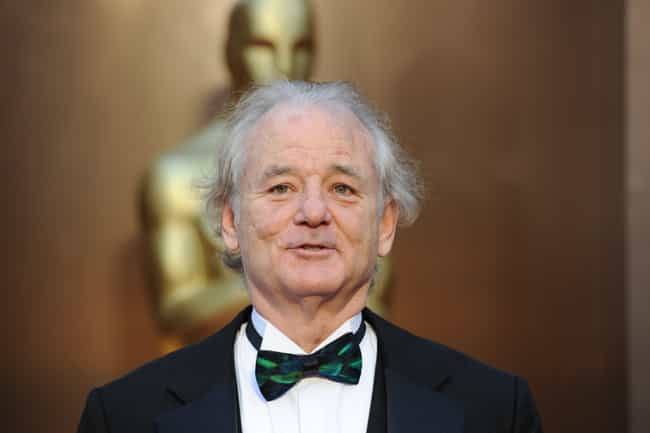 Bill Murray is listed (or ranked) 4 on the list 33 Comedic Actors Who Have Been Nominated for Oscars