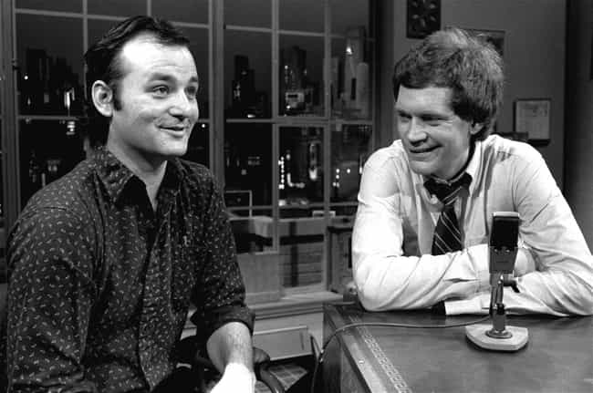 Bill Murray is listed (or ranked) 1 on the list Famous Friends of David Letterman