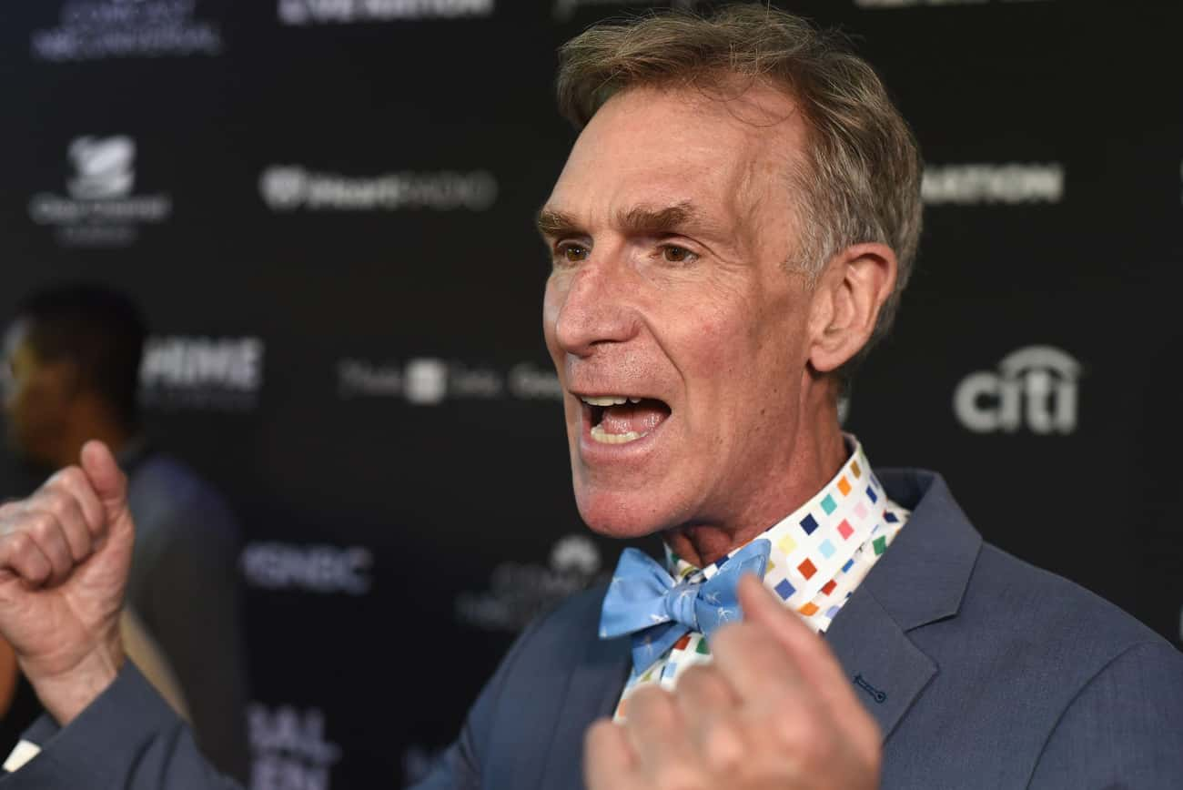 Bill Nye is listed (or ranked) 3 on the list Famous People Born in 1955