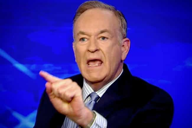 Bill O'Reilly is listed (or ranked) 4 on the list Journalists Who Were Caught Lying