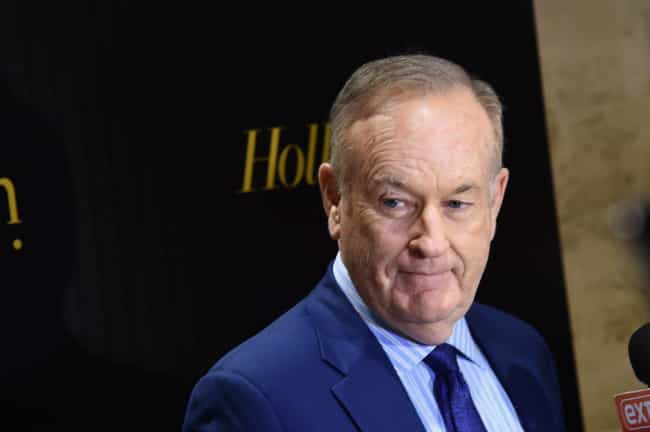 Bill O'Reilly is listed (or ranked) 3 on the list Famous Male Journalists