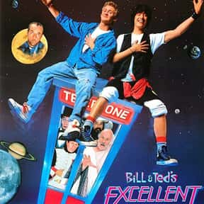 Bill & Ted's Excellent Adv is listed (or ranked) 2 on the list The Best Time Travel Comedies, Ranked
