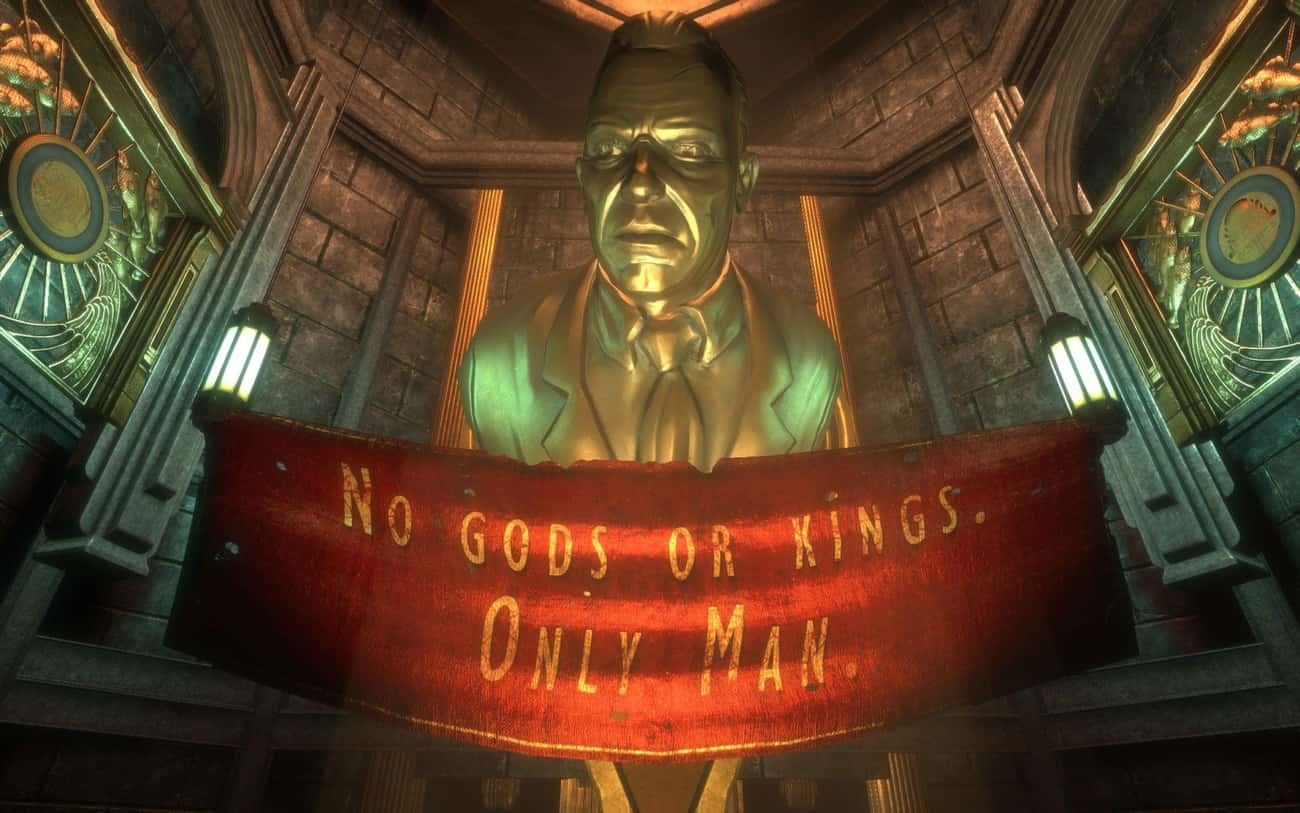 BioShock (Any Title) is listed (or ranked) 4 on the list 16 Games You Need To Play If You Love The 'Fallout' Franchise
