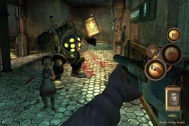 BioShock is listed (or ranked) 2 on the list 15 Of Your Favorite Video Games You Didn't Know Were Inspired By Books