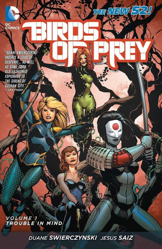 Birds of Prey is listed (or ranked) 2 on the list The Greatest All-Female Superhero Teams & Ensembles