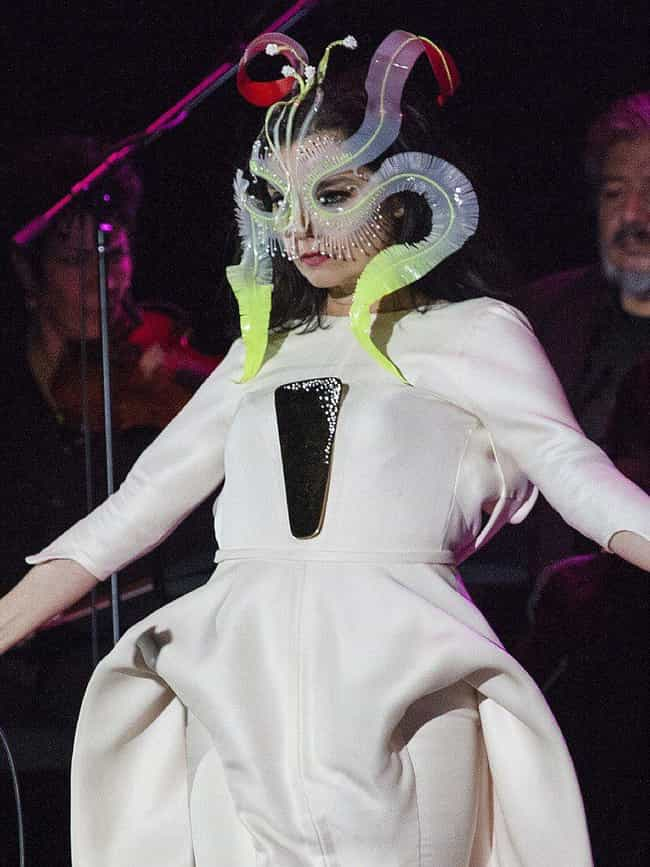 Björk is listed (or ranked) 3 on the list These Women Musicians Are Sharing Their Tales Of Sexism In The Music Industry