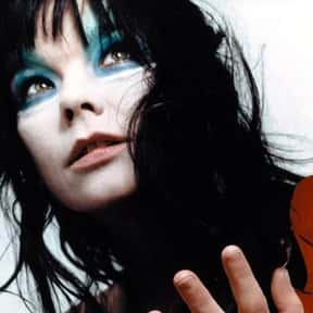 Björk is listed (or ranked) 4 on the list The Best European Female Singers