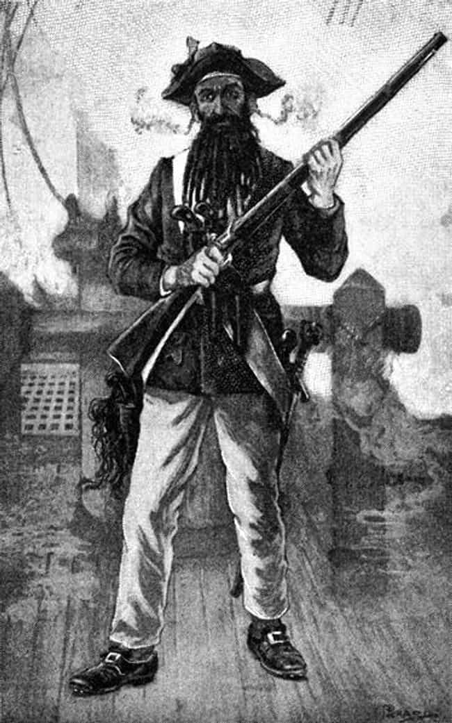 Blackbeard is listed (or ranked) 2 on the list 15 Excessively Violent Pirates Who Rained Death On Their Victims