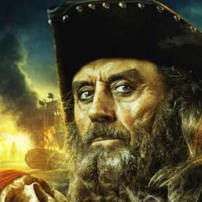 Blackbeard is listed (or ranked) 1 on the list List of Famous Pirates