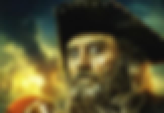 Blackbeard is listed (or ranked) 1 on the list Famous Male Pirates