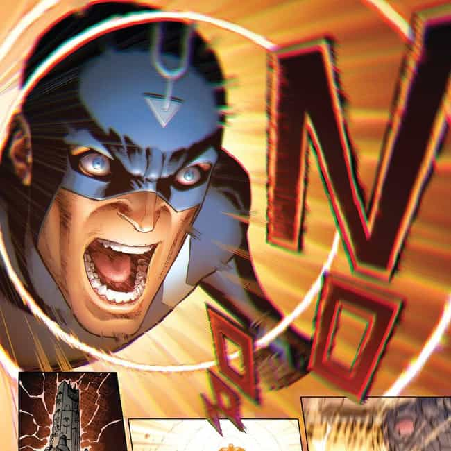 Black Bolt is listed (or ranked) 3 on the list 18 Obscure Characters From Inhumans