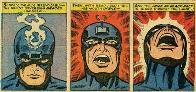 Black Bolt is listed (or ranked) 5 on the list Marvel Superheroes With The Most Harrowing Origin Stories